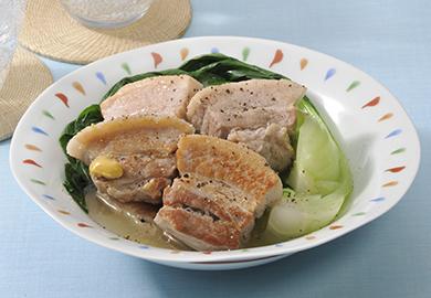 豚肉の塩角煮