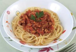 いわしのスパゲティ