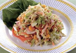 春キャベツとにんじんのサラダ