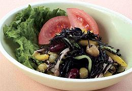 ひじきと豆のサラダ