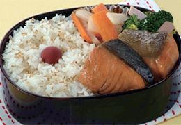 鮭の鍋照り焼き弁当
