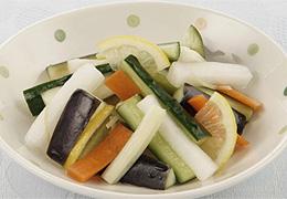 ミックス野菜の浅漬け