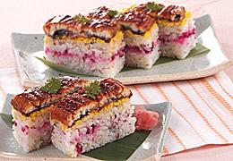 うなぎの押し寿司