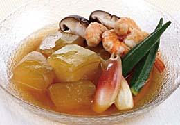 彩り野菜の冷やし鉢