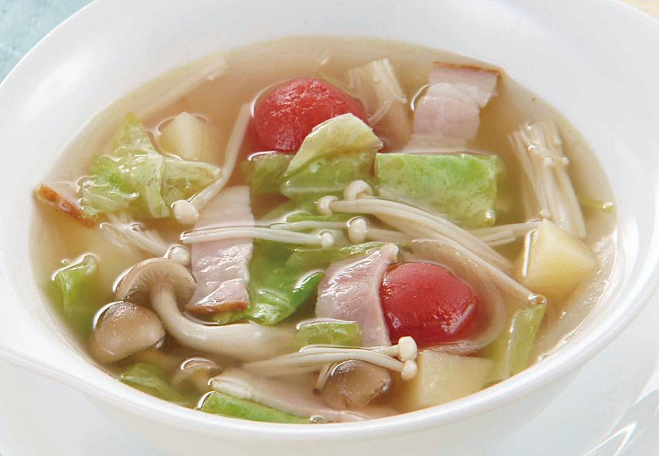 コンソメ スープ