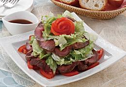 ローストビーフのタワーサラダ
