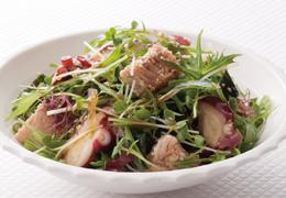 たことさけの中華風海藻サラダ