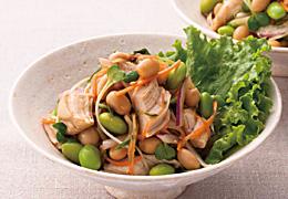 枝豆とささみの和えサラダ