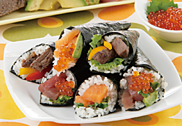 ごちそう手巻き寿司