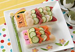 鯉のぼりのお寿司