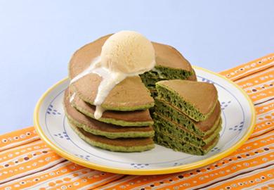 グリーンホットケーキ