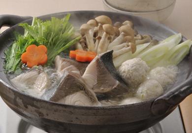 ぶりの塩ちゃんこ鍋