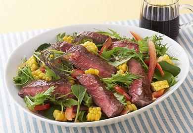 ステーキのサラダ仕立て