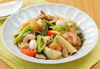 春野菜の八宝菜