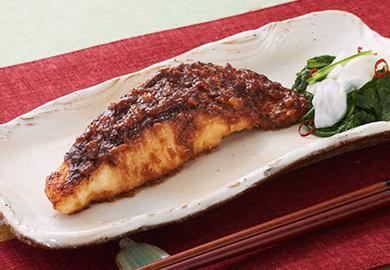 鯛の味噌照り焼き