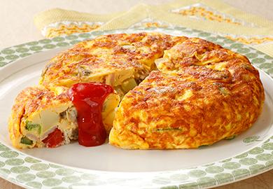 オムレツ レシピ スペイン