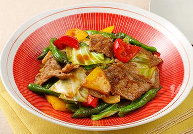 野菜たっぷり回鍋肉
