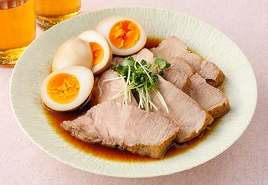 豚肉の十六茶煮
