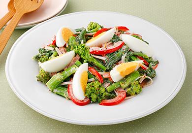 菜の花とたまごのサラダ