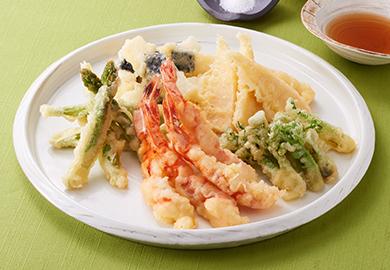 春野菜の天ぷら盛り合わせ