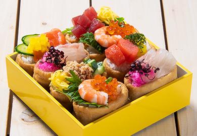 オープンいなり寿司