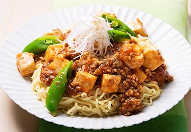 麻婆汁なし麺