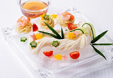 バラエティー涼味麺 ピリ辛ごまつゆ&レモンつゆ