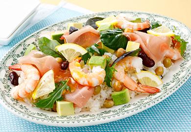 洋風彩りちらし寿司