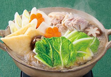白菜と鶏肉のうま鍋