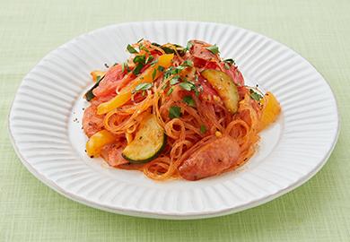 夏野菜のトマト春雨