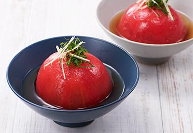 まるごとトマトのおひたし