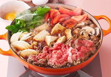 洋風トマトすき焼