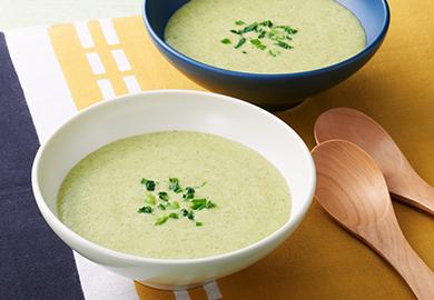 七草のポタージュスープ