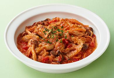 豚肉の味噌トマト煮