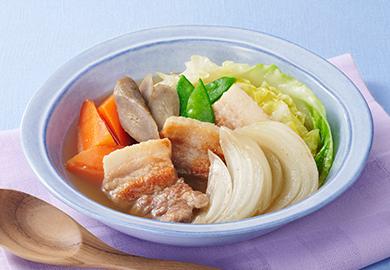 豚肉と春野菜のポトフ