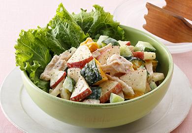 コロコロ野菜の塩こうじヨーグルト和えサラダ
